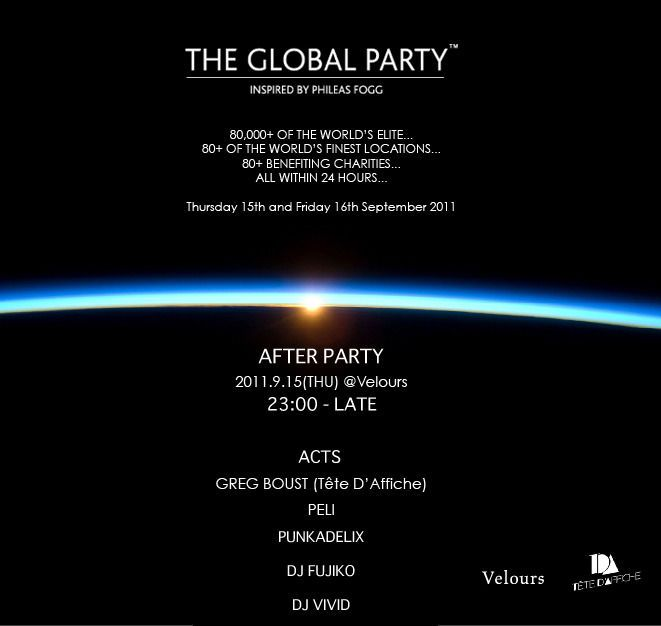 """THE GLOBAL PARTY PARTⅡ"""
