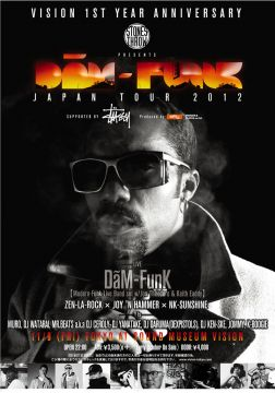STONES THROW PRESENTS DâM-FunK JAPAN TOUR 2012