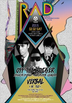 OFF THE ROCKER & VERBAL present RAD