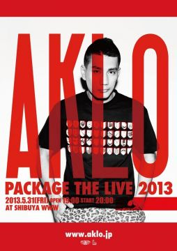 "AKLO ""PACKAGE THE LIVE 2013"""