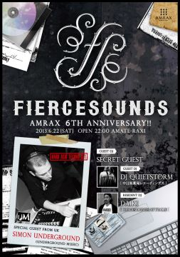 FIERCESOUNDS amate-raxi 6th anniversary DAY 2