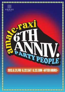 dualism amate-raxi 6th anniversary DAY 3 〜AFTER HOURS〜