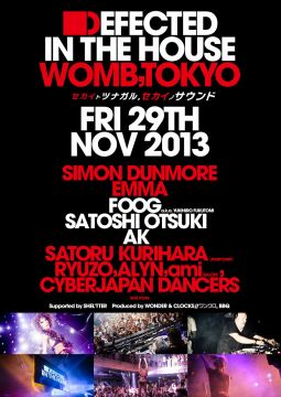 DEFECTED  IN THE HOUSE WOMB, TOKYO feat.SIMON DUNMORE / EMMA
