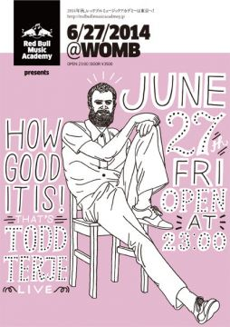 RBMA presents HOW GOOD IT IS! That's TODD TERJE - LIVE -