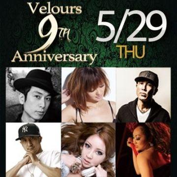 Velours 9th Anniversary -BLOOMING SENSATION-