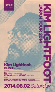 KIM LIGHTFOOT JAPAN TOUR 2014