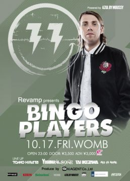 REVAMP PRESENTS BINGO PLAYERS POWERED BY AZUL BY MOUSSY