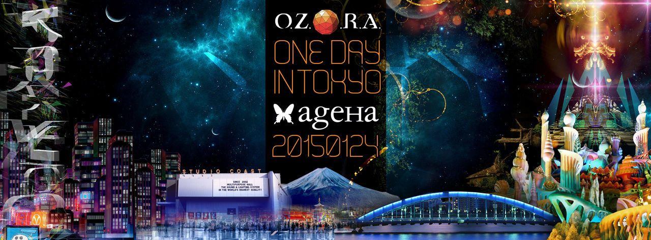 O.Z.O.R.A. One Day in Tokyo