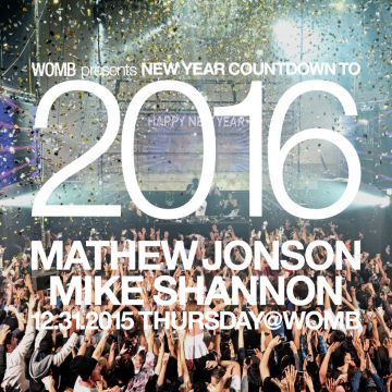 WOMB PRESENTS NEW YEAR COUNTDOWN TO 2016