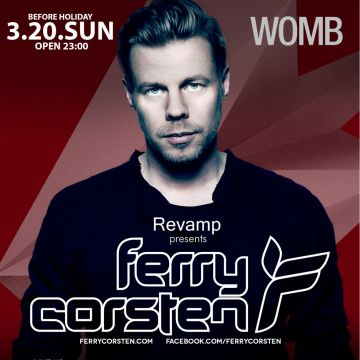 REVAMP presents FERRY CORSTEN