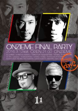 ONZIEME FINAL PARTY DAY2