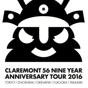 7.18 [holiday] Claremont 56 Japan Tour 2016 at OPPA-LA