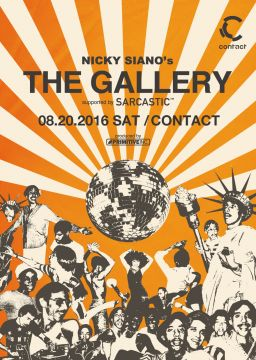 Nicky Siano's THE GALLERY supported by Sarcastic