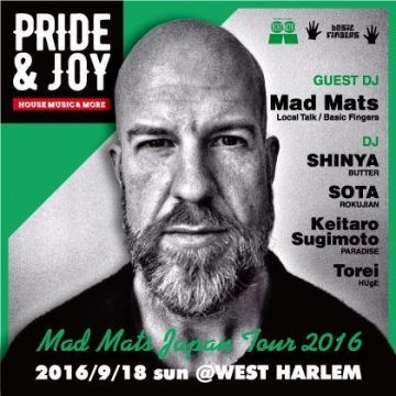 Pride&Joy MAD MATS Japan tour 2016
