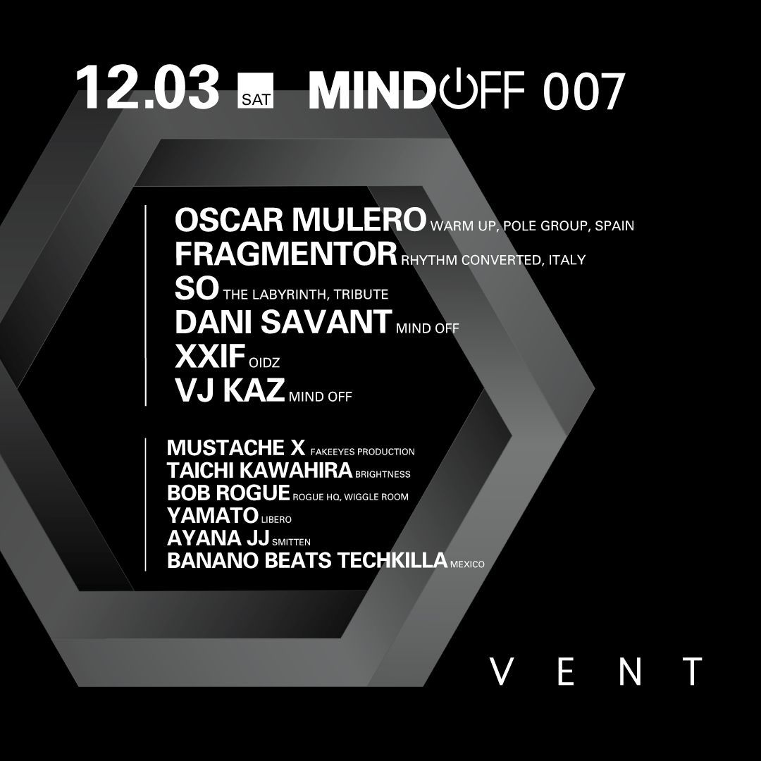 MIND OFF 007 ft. Oscar Mulero