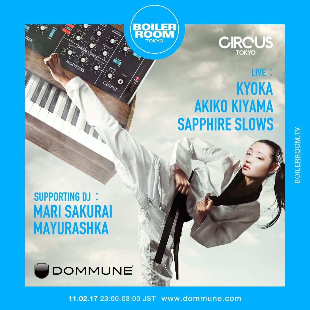 Boiler Room Tokyo / DOMMUNE [2017-02-11 (Sat)] | clubberia
