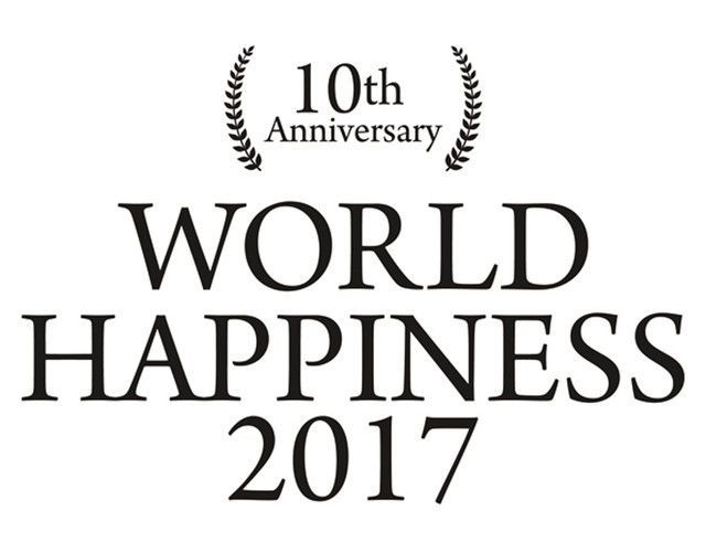10th Anniversary WORLD HAPPINESS 2017