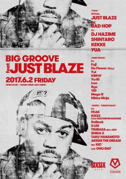 BIG GROOVE feat JUST BLAZE
