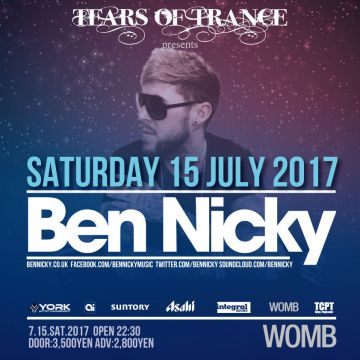 TEARS OF TRANCE feat. BEN NICKY