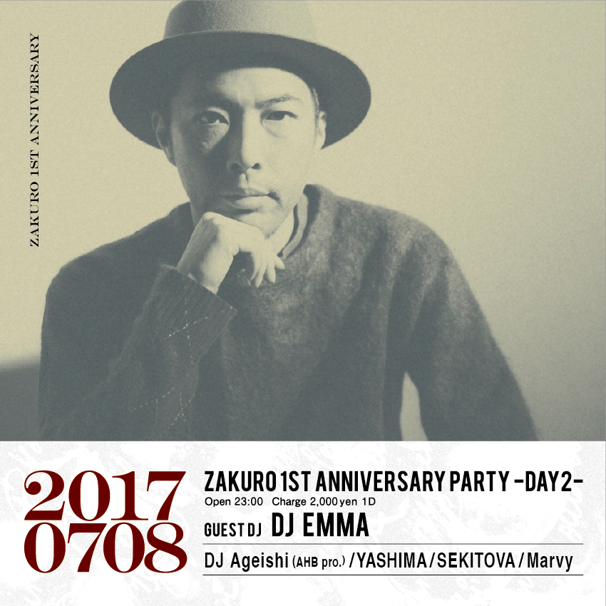 ZAKURO 1st Anniversary Party -DAY2-