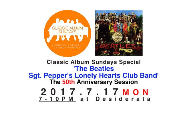 Classic Album Sundays Special 'The Beatles - Sgt. Pepper's Lonely Hearts Club Band' the 50th Anniversary session