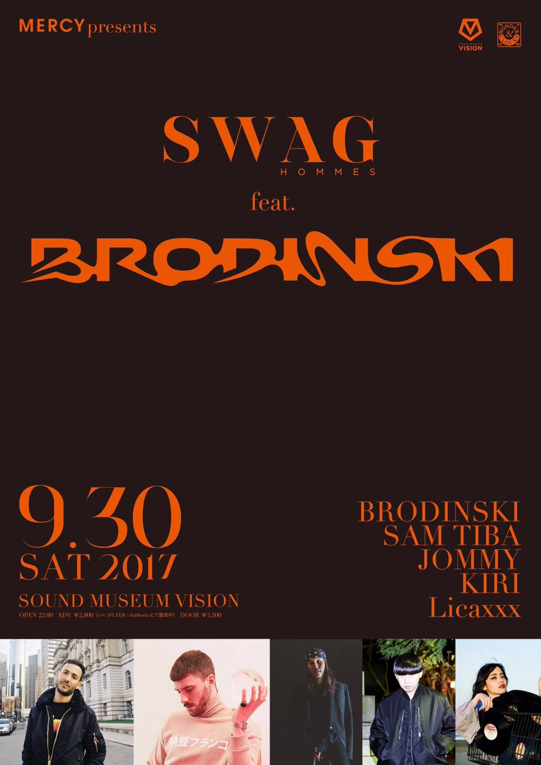 MERCY presents SWAG HOMMES feat. BRODINSKI