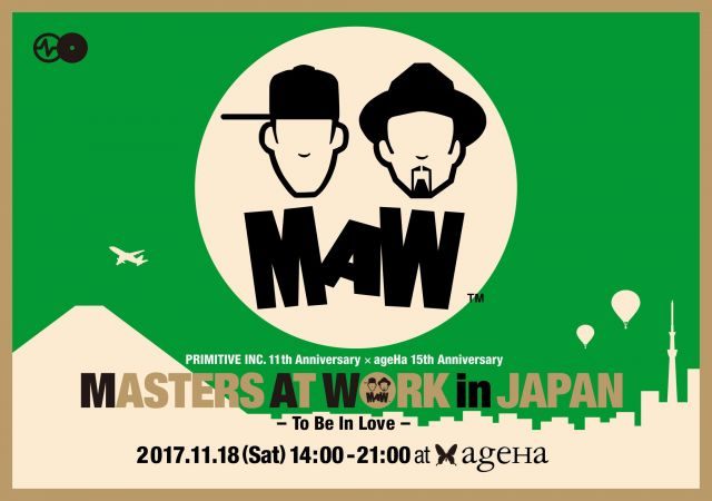 MASTERS AT WORK in JAPAN - To Be In Love -