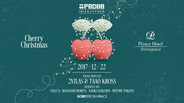 "PACHA IBIZA ON TOUR 2017 ""Cherry X'mas"""