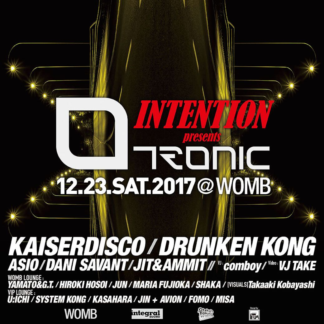 INTENTION presents Tronic with KAISERDISCO