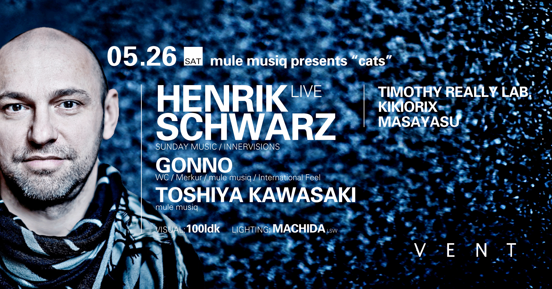 "Henrik Schwarz at mule music presents ""cats"""