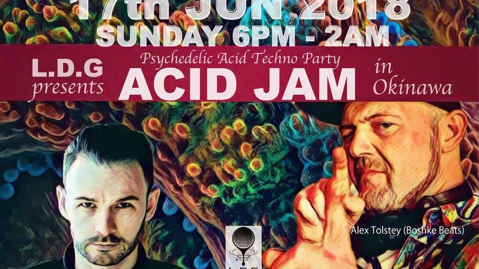 "Liquid Drop Groove presents ""ACID JAM"" in b.p.m."