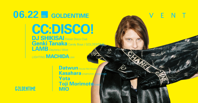 CC:DISCO! at GOLDENTIME
