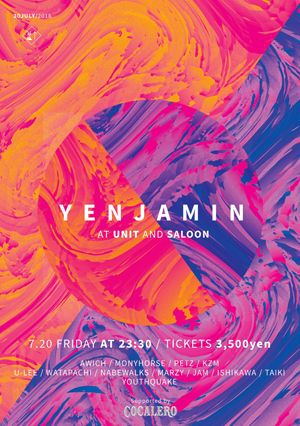 "YENJAMIN SP - kZm ""DIMENSION"" RELEASE TOUR FINAL ‒ Supported by COCALERO"