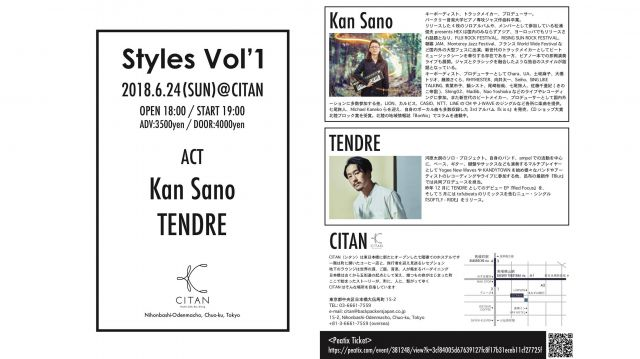 6/24(SUN) LIVE ENENT -Styles-