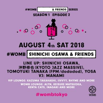 #WOMB [SHINICHI OSAWA & FRIENDS]