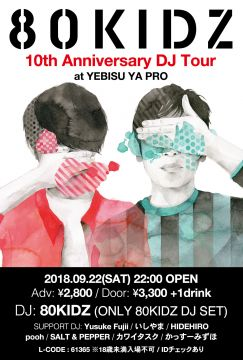80KIDZ 10th Anniversary DJ Tour