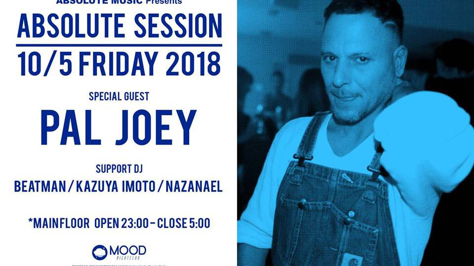 absolute session dj pal joey main floor 2018 10 05 fri