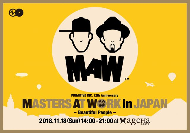 MASTERS AT WORK in JAPAN -Beautiful People-