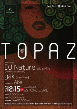 Topaz 2nd  Anniversary Party