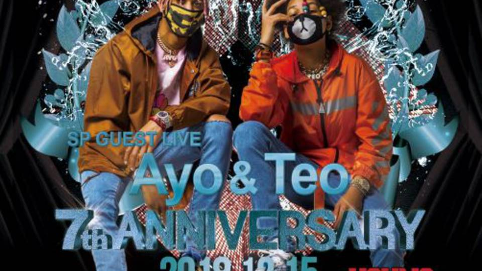 ESPRIT TOKYO 7TH ANNIVERSARY PARTY - SP GUEST Ayo & Teo