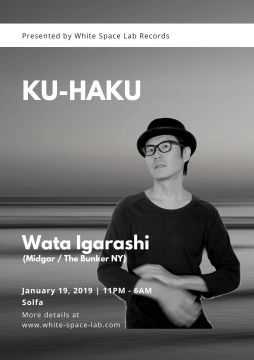 KU-HAKU presented by White Space Lab Records