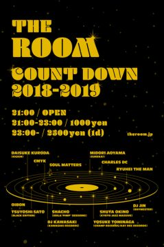 THE ROOM COUNT DOWN 2018-2019