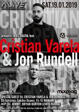 ALIVE presents INTEC DIGITAL feat. CRISTIAN VARELA & JON RUNDELL