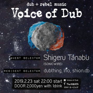 Voice of Dub Vol.35 feat. Shigeru Tanabu