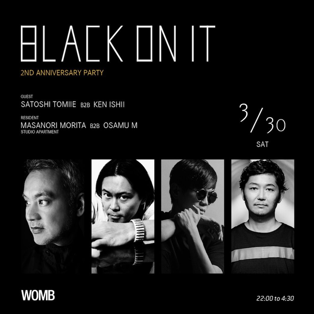 BLACK ON IT -2nd Anniversary Party-
