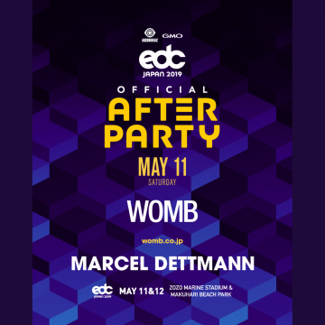 EDC JAPAN 2019 OFFICIAL AFTER PARTY
