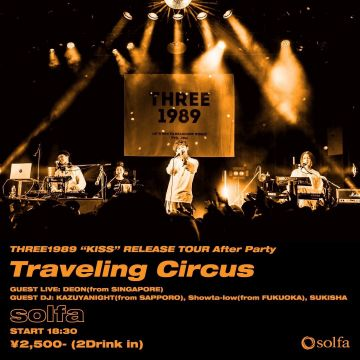 THREE1989 presents Traveling Circus