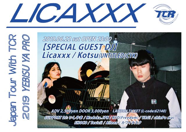 Licaxxx Japan Tour With TCR