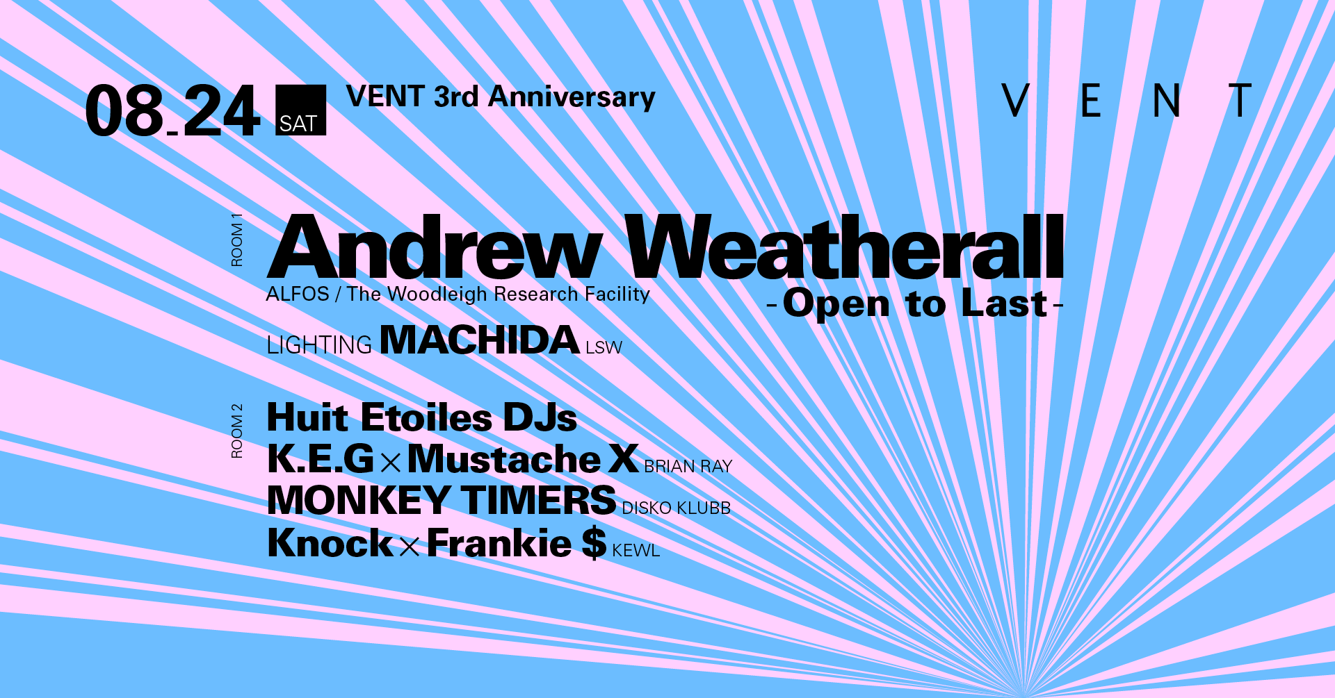 VENT 3rd Anniversary: Day 2 Feat. Andrew Weatherall