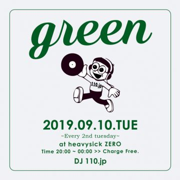 MUSIC BAR GREEN【20:00~Midnight】